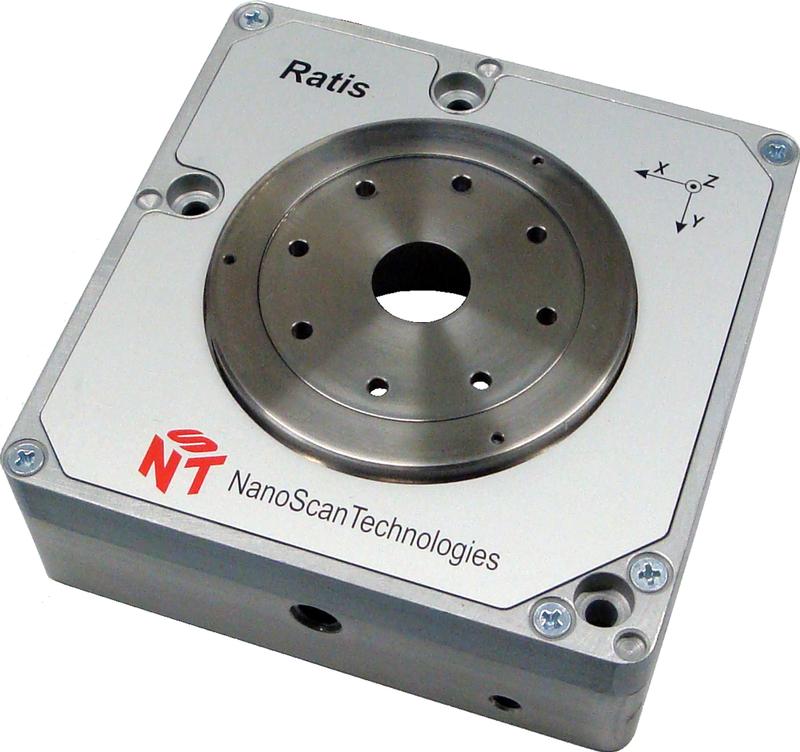 Ratis XYZ - 3D плоскопараллельный сканирующий столик